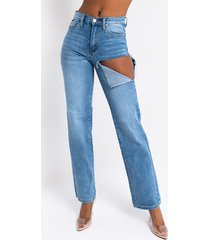 akira show me more high waisted straight leg jeans