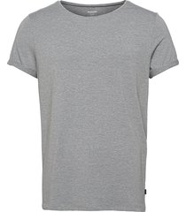 bamboo jimmy tee t-shirts short-sleeved grå resteröds