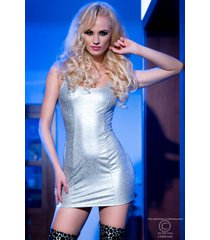 * chilirose jurk cr4018-silver (s & m)