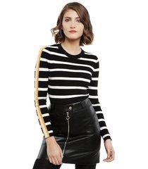 sweater only thia negro - calce ajustado