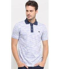 camisa polo gajang estonada manga curta masculina