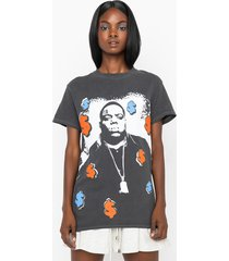 akira all about the benjamins biggie graphic t-shirt