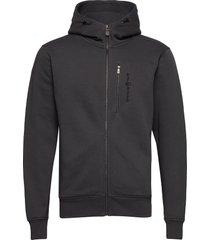 bowman zip hood hoodie trui grijs sail racing