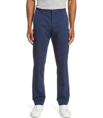 men's bonobos stretch weekday warrior slim fit dress pants, size 40 x 32 - blue