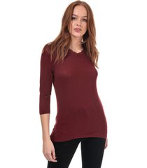 womens honey lace trim top