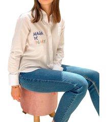 camisa en algodón magia de colores - la marquesa
