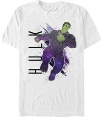 marvel men's avengers galaxy painted hulk short sleeve t-shirt