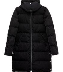 matt & nat giada puffer jacket, black