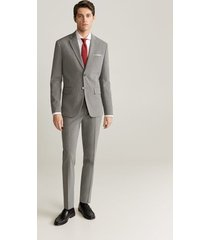 katoenen tailored slim-fit overhemd