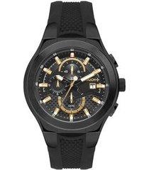 relógio touch unissex premium preto twos10ab/4p twos10ab/4p