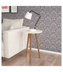 mesa de apoio móveis bechara brilhante off white