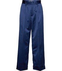 thille wijde broek blauw custommade