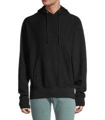 sandro men's h19 drawstring hoodie - black - size l