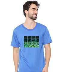 camiseta sandro clothing nature azul - azul - masculino - dafiti