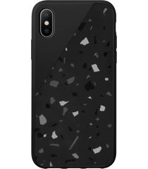 native union clic terrazzo iphone xs case - black
