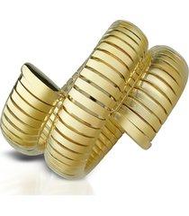 az collection designer bracelets, gold plated winding snake stretch bracelet