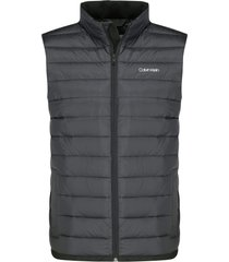 chaleco negro calvin klein light down vest