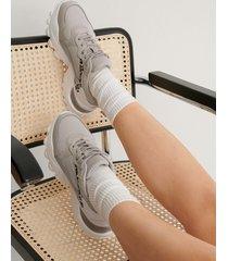 na-kd shoes träningsskor med leopardmönster - grey