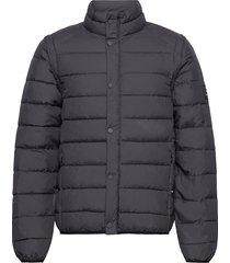 vermont jacket - ecoalf x les deux gevoerd jack zwart les deux