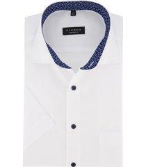 eterna overhemd korte mouwen comfort fit wit
