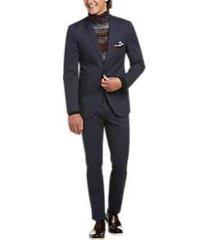 paisley & gray slim fit suit separates coat navy