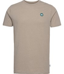 timmi recycled cotton t-shirt t-shirts short-sleeved beige kronstadt