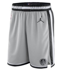 jordan men's san antonio spurs statement swingman shorts