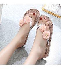 sandalias de playa con flecos de verano sandalias para mujer