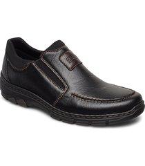 19961-03 loafers låga skor svart rieker