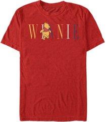 fifth sun men's pooh fashion short sleeve t-shirt