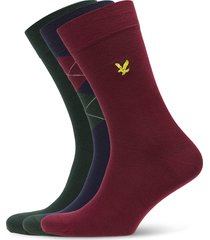 hewie underwear socks regular socks multi/mönstrad lyle & scott