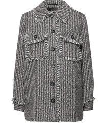 yasfave ls jacket zomerjas dunne jas grijs yas