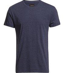 kronos o-n ss 273 t-shirts short-sleeved blå samsøe samsøe