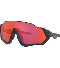 gafas oakley flight jacket matte navy w/ prizm trail torch