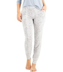 alfani essential jogger pajama pants, created for macy's
