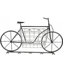 stojak wieszak ścienny na wino bicycle