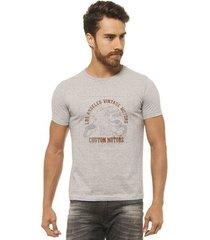 camiseta joss - custom motors - masculina