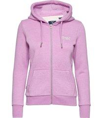 ol classic ziphood hoodie trui superdry