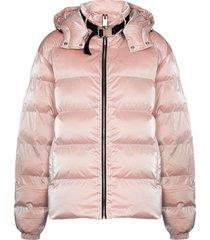 1017 alyx 9sm nightrider shell puffer jacket - pink
