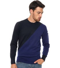 sweater azul tommy hilfiger alan c-nk cf