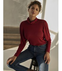 body high neck knit