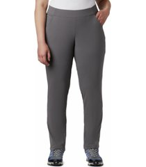 columbia plus size anytime casual pull-on pants