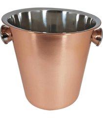 balde de gelo 4,5l 22cm rose gold cobre