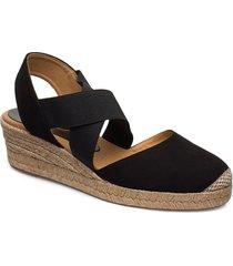 cele_20_ks sandalette med klack espadrilles svart unisa
