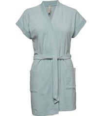 terry jersey kimono morgonrock blå filippa k soft sport