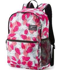 mochila rosa puma academy