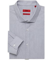 erondo extra slim-fit print dress shirt