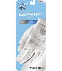 guante de golf staff grip soft para damas