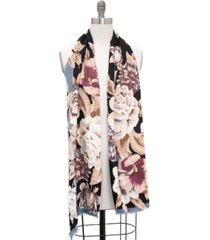 inc gorgeous floral pashmina scarf, created for macy's