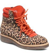 woms boots shoes boots ankle boots ankle boot - flat orange tamaris